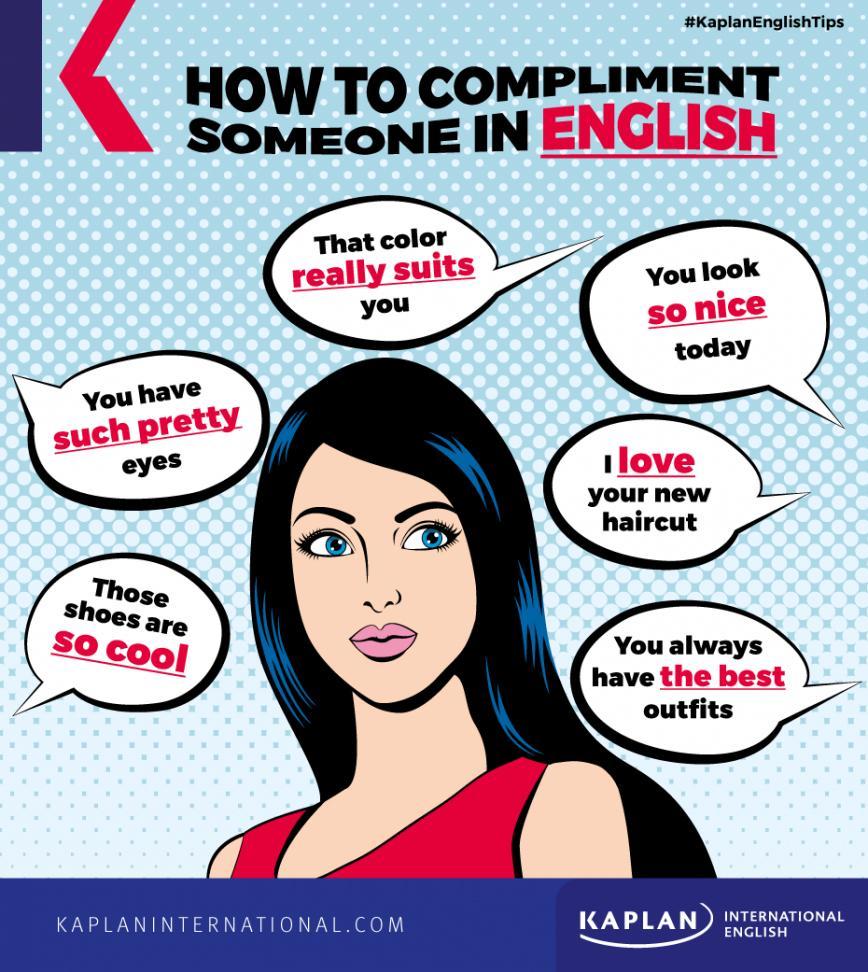 كيف توجّه الإطراء باللغة الإنجليزية لشخصٍ ما   Kaplan Blog