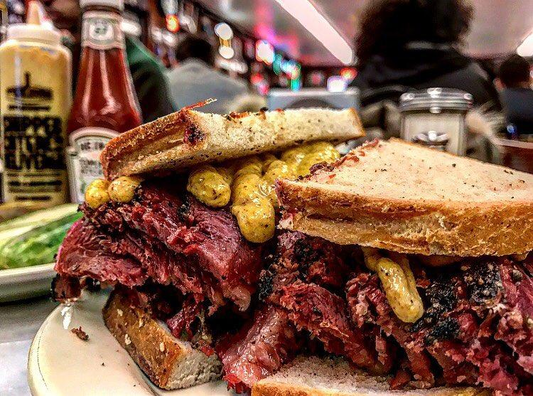 New York pastrami