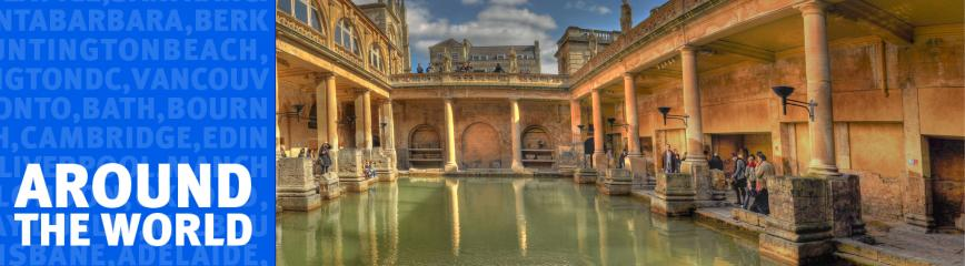 Roman Baths in Bath UK