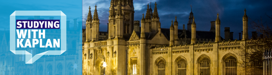 King's College, Cambridge at night