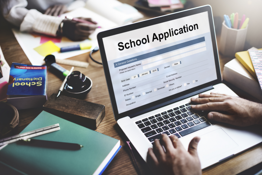 university abroad: online application