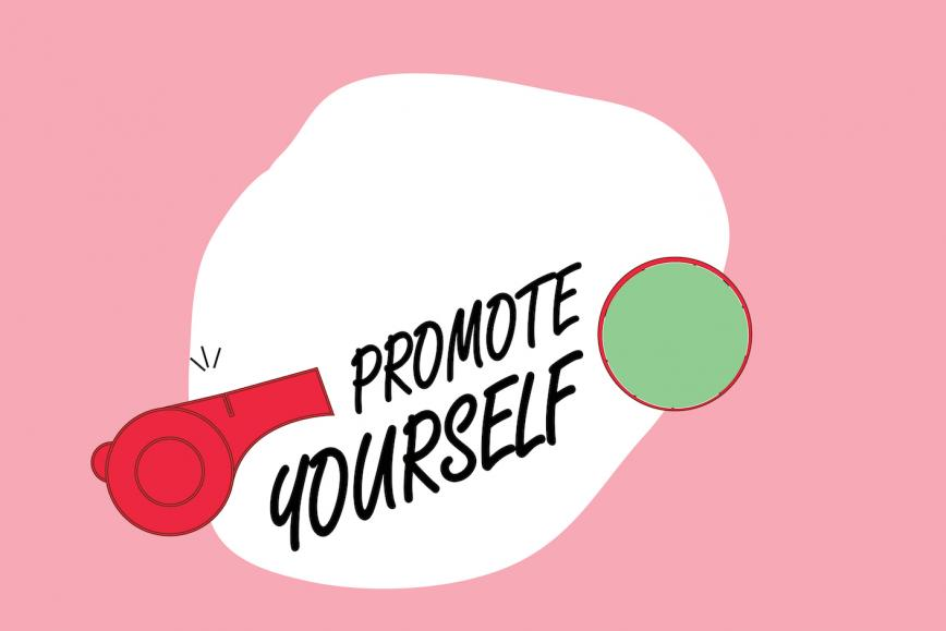 Promote yourself to get a job
