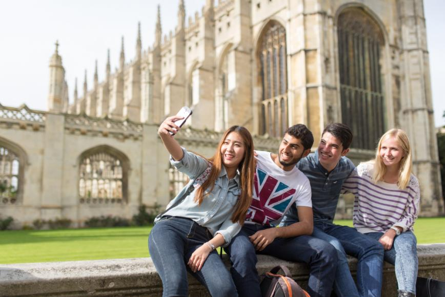 students at cambridge