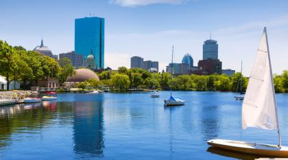 Boston in the summer