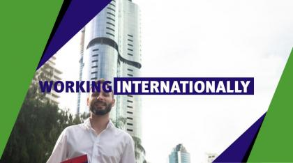 working internationally in the city