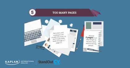 Tip 5: Too many pages