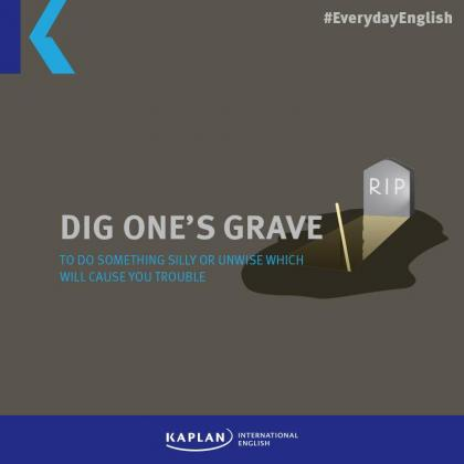 Halloween – Dig one's grave
