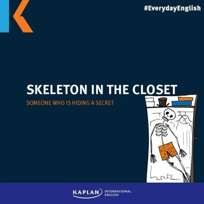 Halloween - Skeleton in the closet