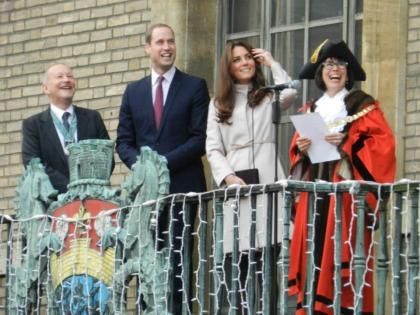 This was Kate and William's first visit to Cambridge as a married couple