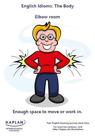 Idioms: Elbow room | Kaplan Blog
