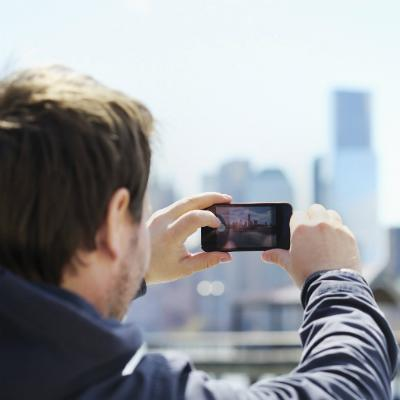 A mobile phone will help you get around, keep in touch with others, and capture a few memories along the way!