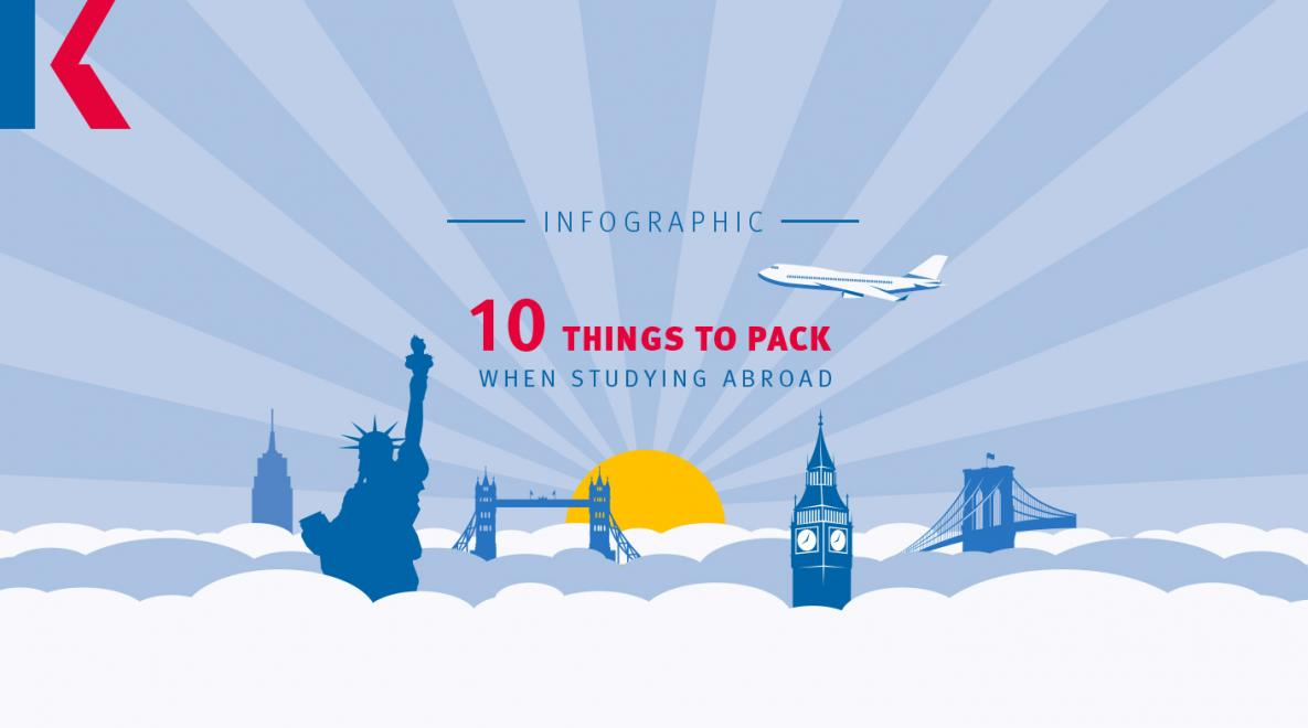 10 things to pack