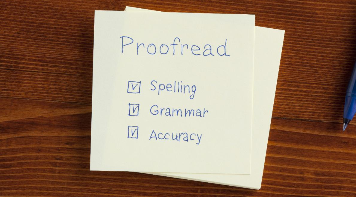 Proofreading Hacks