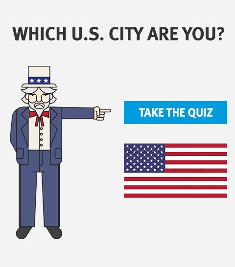 Which US city are you