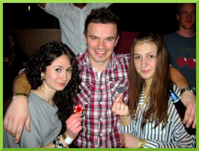 Svetlana, Damien et Victoria au Bloomsbury Lanes
