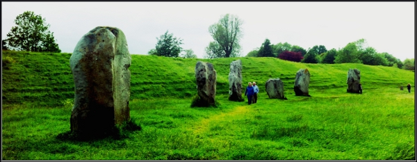 Avebury Stone Circle: A traditional location for solstice celebrations
