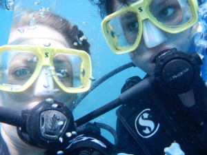 Students become certified divers at the end of the course
