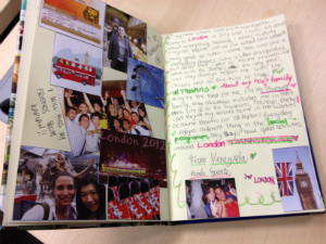 The journal is an opportunity for students to share their message all over the world