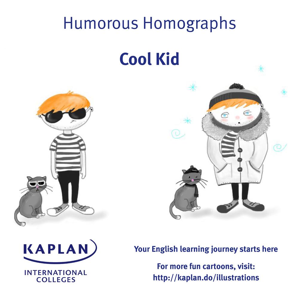 Cool homograph
