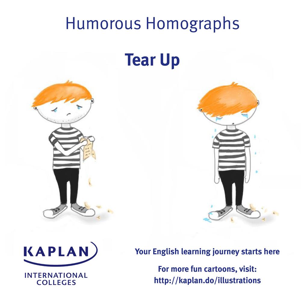 tear homograph
