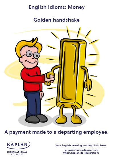 idioms golden handshake