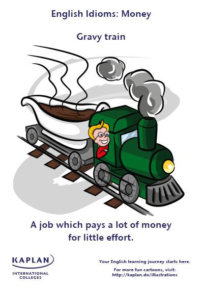 idioms gravy train