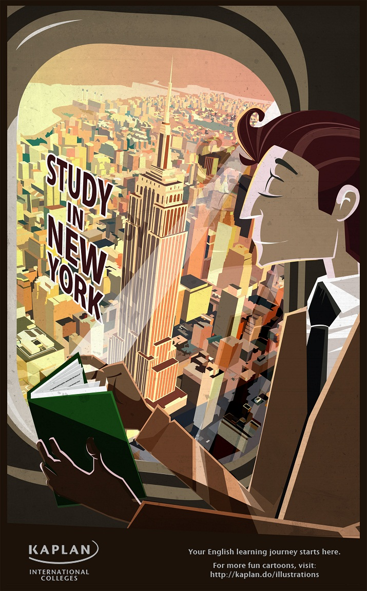 เรียนที่นิวยอร์ก