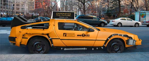 Time travel taxi