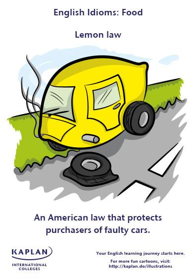 lemon law idioms