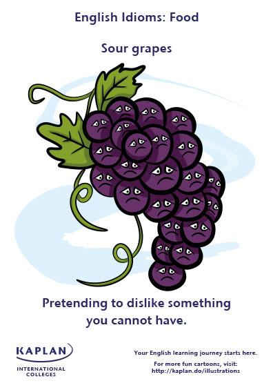 sour grapes idioms