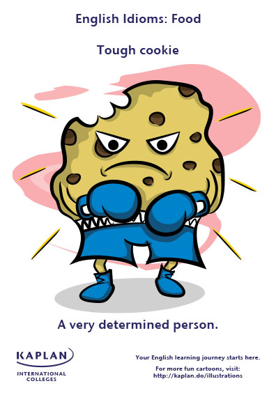 tough cookie idioms