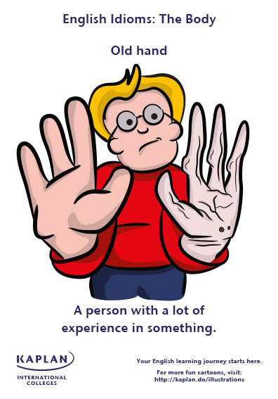 old hand idioms
