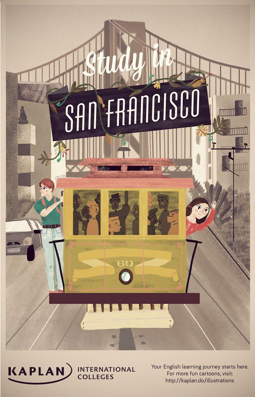 Etudiez à San Francisco