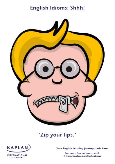 zip your lips