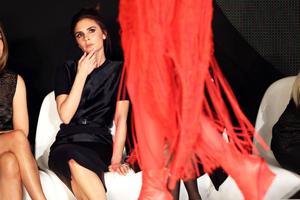 Victoria Beckham at London Fashion Week