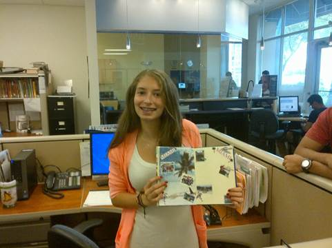 Kaplan Miami were excited to receive the journal