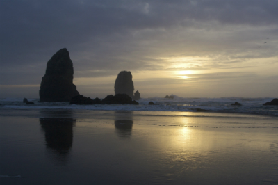 Canon Beach - just a drive away from Portland