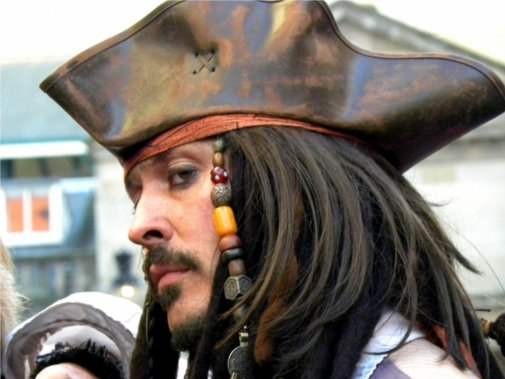 New Dictionary Words: Captain Jack Sparrow Lookalike