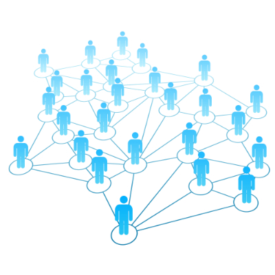 Networking contacts allows you to get professional help further down the line.