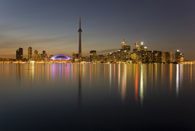 Even before the athletes and spectators arrive, Toronto is a buzzing, cosmopolitan city.