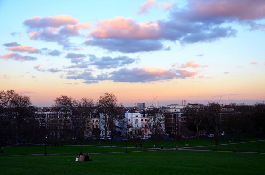 Por do Sol Primrose Hill - Londres