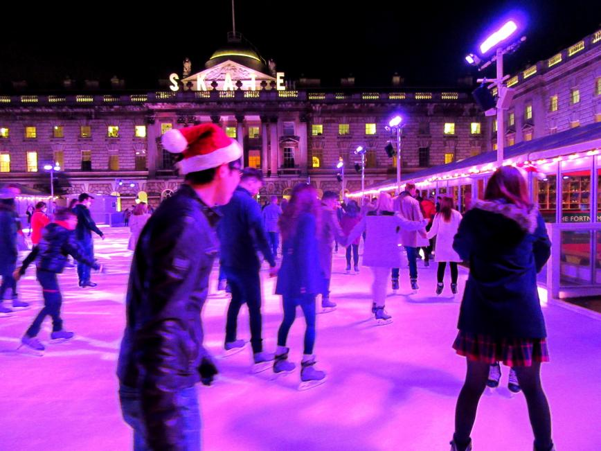 London ice skating
