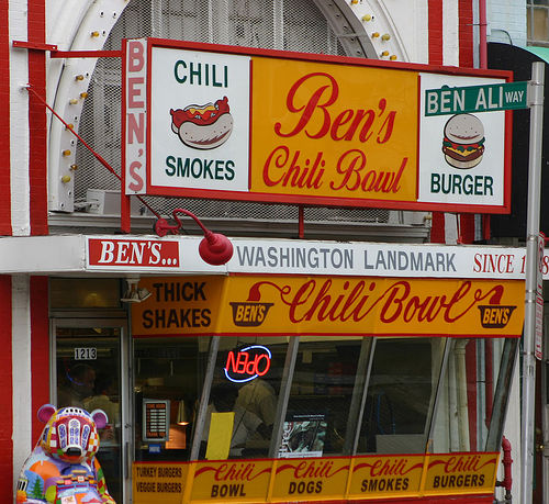 Cheap eats in Washington