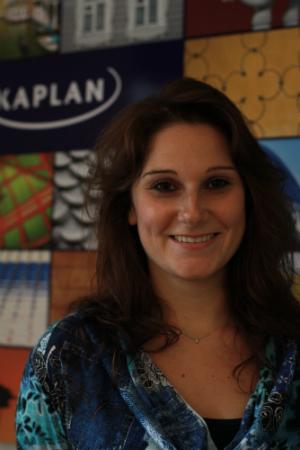 Daniela has a lot of experience at Kaplan