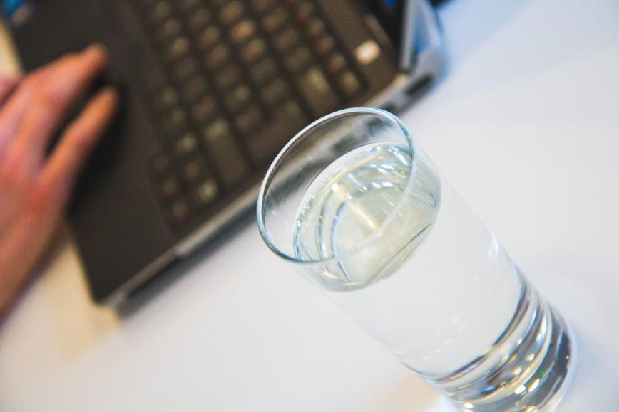 skype interview water
