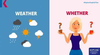 weather or whether