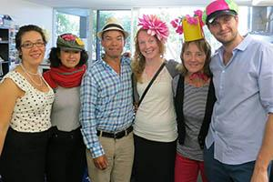 Manly Teachers celebrate the Melbourne Cup