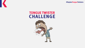 Tongue twisters challenge