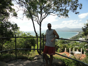 Asaf loved the Cairns scenery