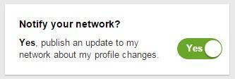 LinkedIn Profil verbessern - Notifications
